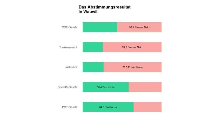 Eine Mehrheit in Wauwil lehnt das CO2-Gesetz ab