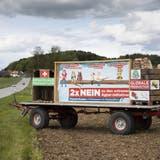Die Argumente der Gegner der Agrarinitiativen vermochten die Stimmbevölkerungzu überzeugen. (Bild: Keystone)