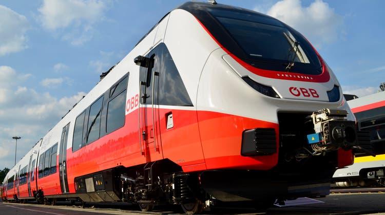 Ausser Spesen nichts gewesen: Der Talent 3 von Bombardier im Design der ÖBB. (Bild: PD)