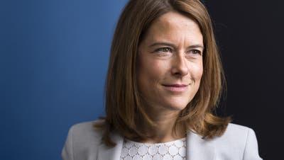 Petra Gössi war seit 2016 Präsidentin der FDP Schweiz. (Keystone)