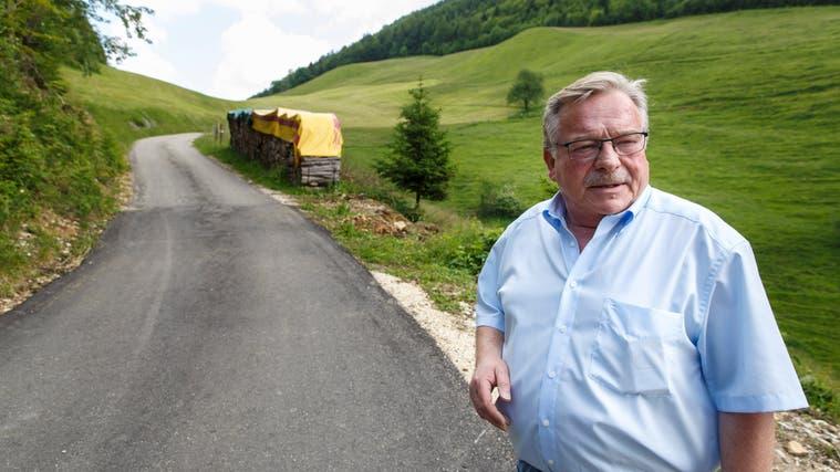 Gemeindepräsident Mümliswil-Ramiswil: Kurt Bloch. (Hanspeter Bärtschi)
