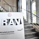 Das Regionale Arbeitsvermittlungszentrum (RAV) Frauenfeld: Gute Arbeit geleistet. (Bild: Donato Caspari)
