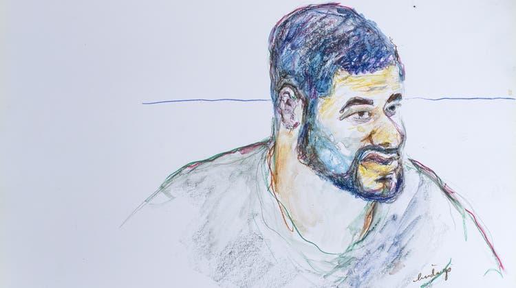 Wirft dem Zürcher Gefängnis Pöschwies Folter vor: Der junge Straftäter Brian. (Illustration: Linda Grädel / Keystone)