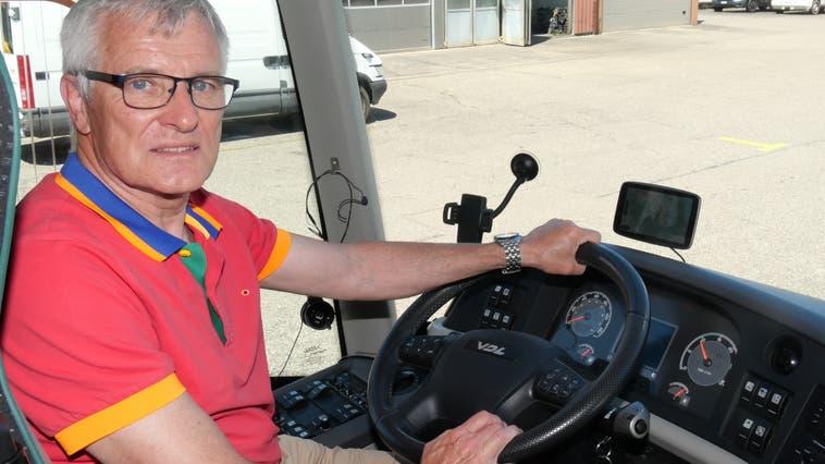 Felix Ackle, Carunternehmer aus Frick, will nach Monaten der Zwangspause endlich wieder los. (Hans Christof Wagner (14. Juni 2021))