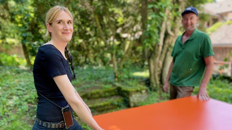 Liz Kuhn zeichnet verantwortlich für die Gartenbeiz im Ammanngarten. (zvg)