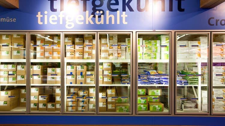 Gibt es Tiefkühlprodukte schon bald unverpackt? Das Parlament hat den Bundesrat mit einer Gesetzesrevision beauftragt. (Symbolbild) (Keystone)