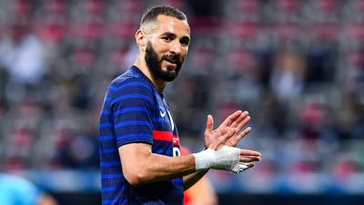 Karim BENZEMA of France during the international team friendly match between France and Wales at Allianz Riviera on June 2, 2021 in Nice, France. (Photo by Baptiste Fernandez/Icon Sport via Getty Images) (Baptiste Fernandez / Icon Sport)
