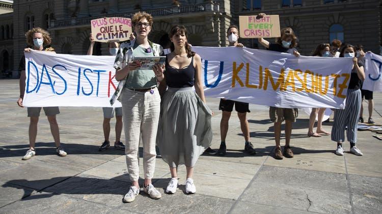 Nach dem Nein zum CO2-Gesetz nehmen Mitglieder des Klimastreiks Stellung. Nun zeigt sich: Junge haben überdurchschnittlich abgelehnt. (Keystone)