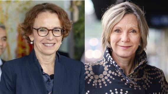 Die Ständerätinnen Eva Herzog (l.) und Maya Graf setzen sich für den Grenzverkehr ein. (bz-Archiv)