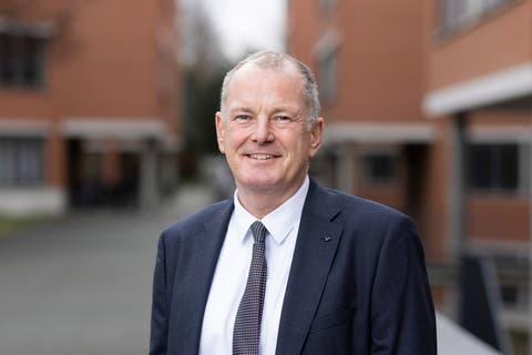 Stephan Attiger, Vorsteher Departement Bau, Verkehr und Umwelt, Aargauer Landammann 2021. Fotografiert am 17. Dezember 2020 in Aarau.