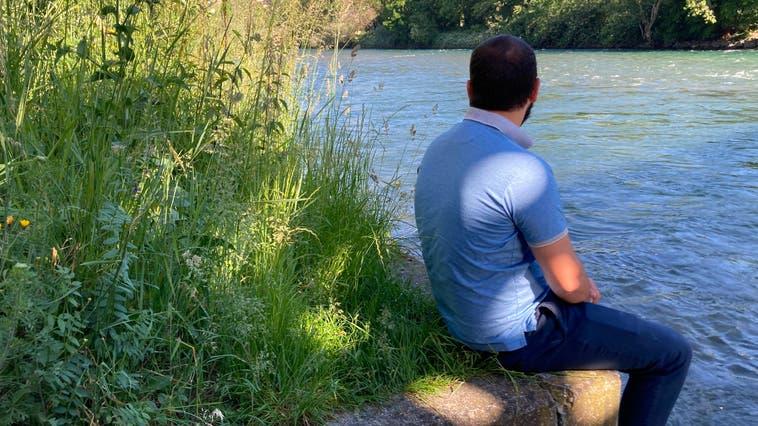 Der 22-jährige K. A. flüchtete als Minderjähriger in die Schweiz. Er möchte anonym bleiben. (Hans-Caspar Kellenberger)