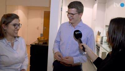 Die grüne Nationalrätin Franziska Ryser und SVP-Nationalrat Mike Egger in einer früheren Sendung des Ostschweizer Regionalfernsehens TVO. (Bild: Christina Brunner (19.12.2019))