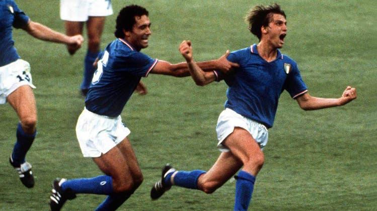 Marco Tardelli bei seinem berühmten Torjubel im WM-Final 1982. (Bild: Imago images)