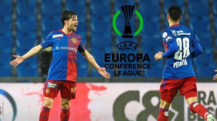 Valentin Stocker und Raoul Petretta wollen mit den FC Basel in die Gruppenphase. Dafür müsste der FCB drei Quali-Runden überstehen. (Freshfocus)