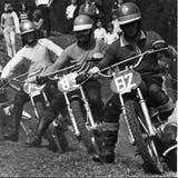 Zwischen 1967 und 1981 kämpften die Fahrer an den 15 Motocross-Events in Schupfart auf hügeligem Gelände um die Ideallinie. (Bild: Zvg)