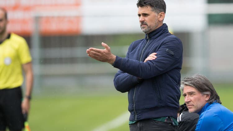 Selver Hodzicwird neuer Trainer der FC Aarau Frauen. (Lz / Boris Bürgisser)