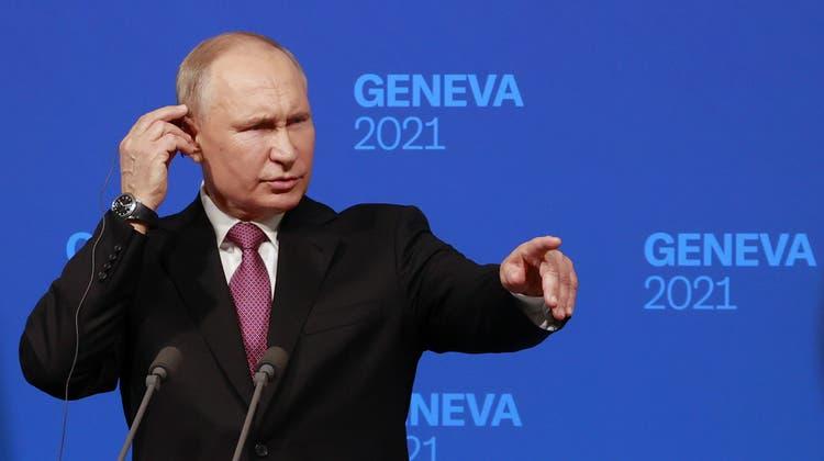 Jetzt spricht US-Präsident Biden ++ Putin verteidigt Nawalnys Inhaftierung++«Wovor haben Sie Angst?»