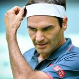 Roger Federer ist in Halle ausgeschieden. (Sascha Steinbach / EPA)
