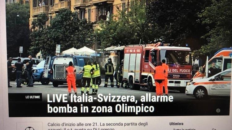 Autobomben-Alarm sorgte in Rom für Aufregung