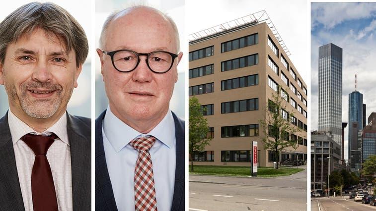 Schlieren: Hier steht das Spital Limmattal, das den elf Mitgliedsgemeinden des Spitalverbands gehört. Seine Urologie-Abteilung übernimmt nun die Uroviva mit Sitz in Bülach. Die Uroviva gehört – zu zwei Dritteln – dem Beteiligungsfonds «German Equity Partners IV», den die deutsche ECM Equity Capital Management GmbH mit Sitz in Frankfurt verwaltet. (Severin Bigler)