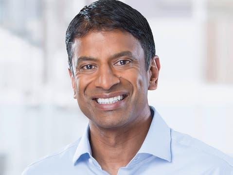 Novartis, unter der Leitung des US-amerikanischen Konzernchef Vas Narasimhan, bekennt sich zum Anliegen der «Ehe für alle»-Abstimmung im September.