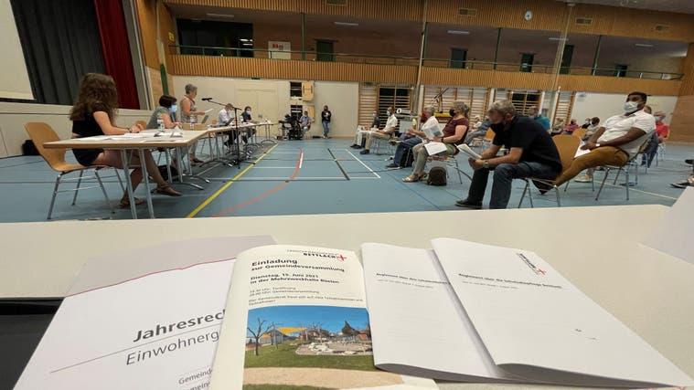 Gemeindeversammlung in Bettlach am Dienstagabend (Oliver Menge)