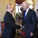 Biden:«Menschenrechte kommen immer auf den Tisch» ++ Putin verteidigt Nawalnys Inhaftierung ++ Das war der Genf-Gipfel