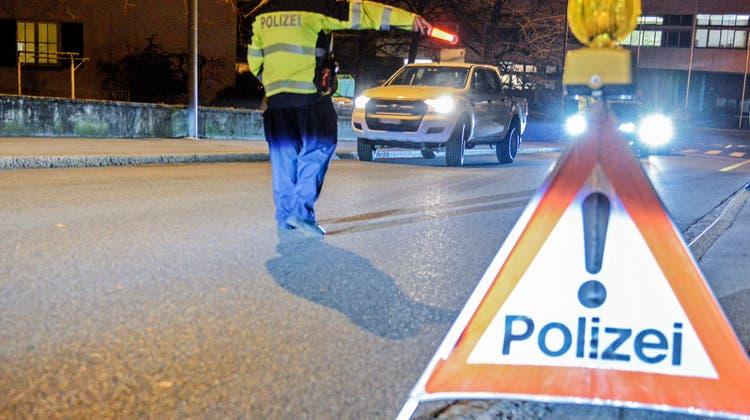 28-Jähriger durchbricht Grosskontrolle der Polizei auf Autobahn