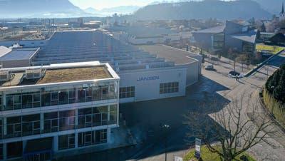 Jansen in Oberriet profitiert vom Vertriebsnetz der SFS Group in Sachen Connex-Fenster. (PD)