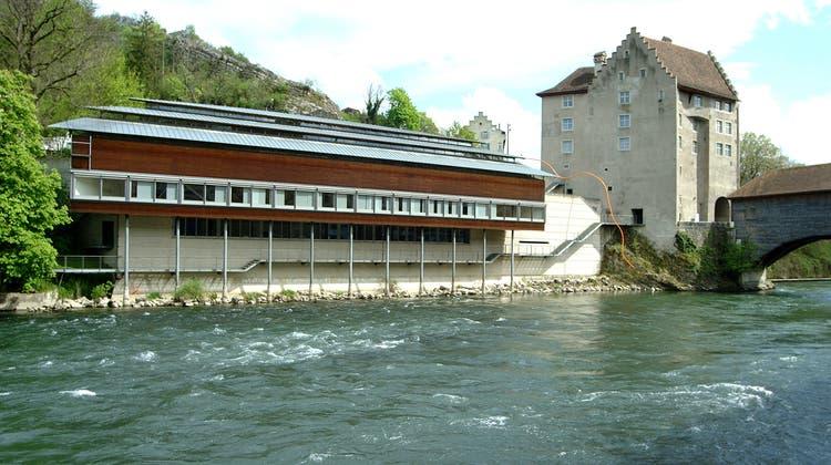 Direkt an der Limmat: Das Historische Museum befindet sich im «Melonenschnitz» (links) und Landvogteischloss. (AZ-Archiv)