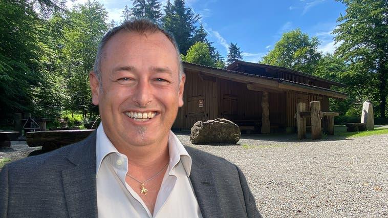 Die Waldhütte Cheserholz in Eggenwil ist im Besitz der Ortsbürgergemeinde und praktisch die einzige grössere Einnahmequelle. (Marc Ribolla)