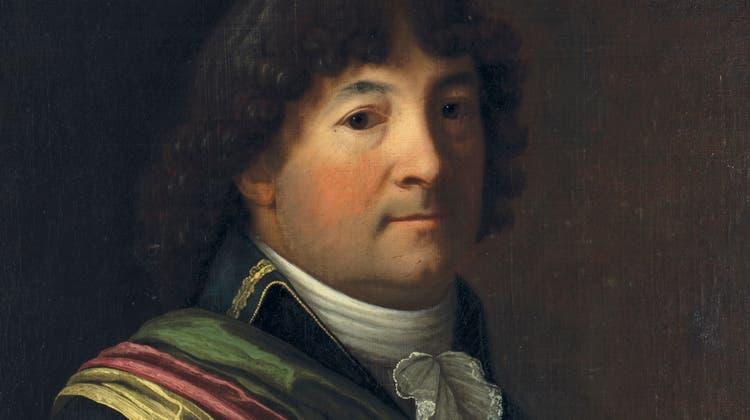 Der Basler Politiker und Historiker Peter Ochs (1752–1821) während seiner Zeit als helvetischer Direktor. (Zvg/Historisches Museum Basel)