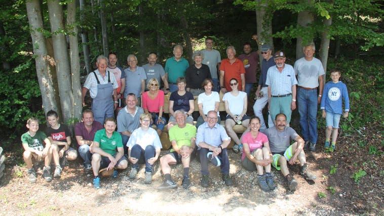 Rotary Hands-on-Projekt Kienberg im Aufwind!