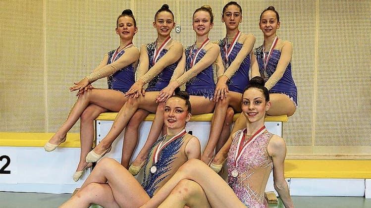 Rheintaler Gymnastinnen sind weiterhin in Hochform
