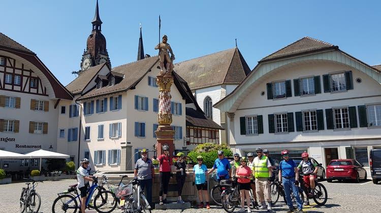 E-Bike-Herztour Olten – Fahrt zum Storchendorf Brittnau