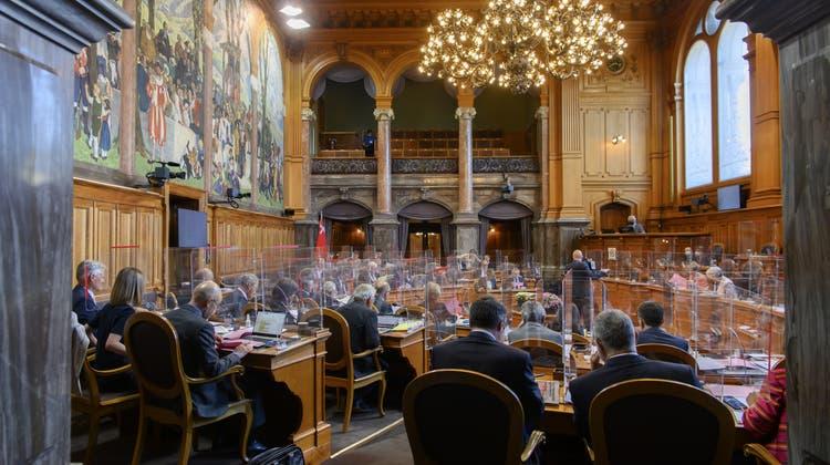 Auch der Ständerat bevorzugt zum Ausstieg aus der besonderen Lage den Drei-Phasen-Plan des Bundesrates. (Keystone)