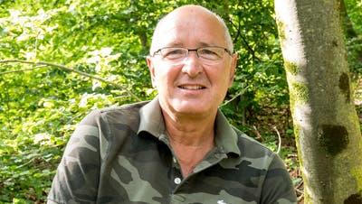 Martin Thommen im Sissacher Wald: Seine Art der Meditation. (Nicole Nars-Zimmer)