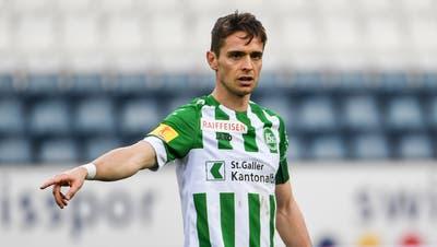 Jordi Quintillà war bei St.Gallen Captain und wichtiger Baustein für die Vizemeisterschaft in der Saison 2019/20. (Feshfocus / Daniela Frutiger)