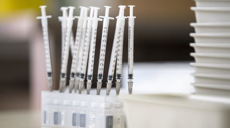 Die Schweiz hat so viel Impfstoffe wie noch nie. (Pablo Gianinazzi / Keystone/Ti-Press)