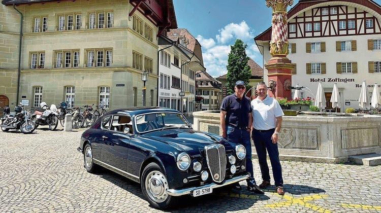 Aargauer startet an legendärem Oldtimer-Rennen