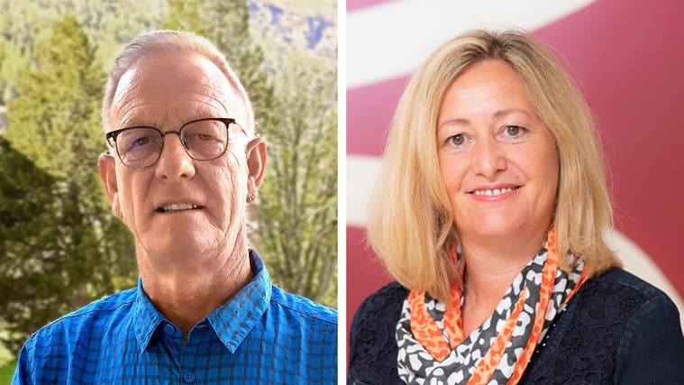 Kurt Vogt undAnna Gyr kandidieren für die Finanzkommission Lupfig. (zvg)