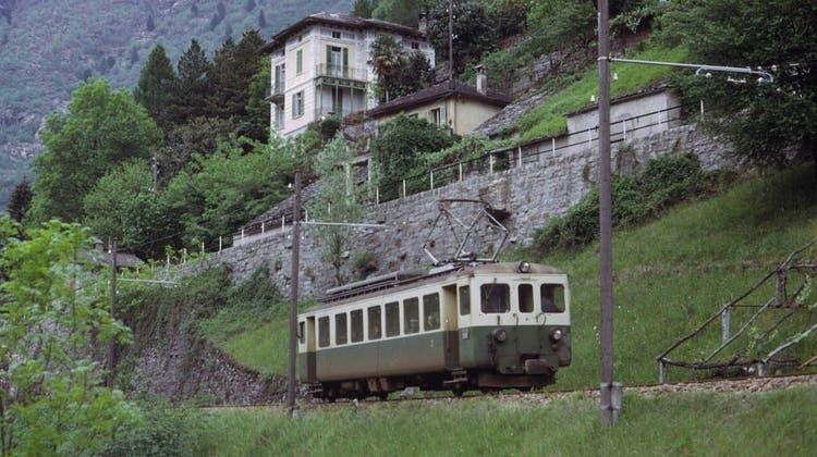 Bis 2012 stand der Triebwagen im Misox für touristische Extrafahrten im Einsatz. (zvg)