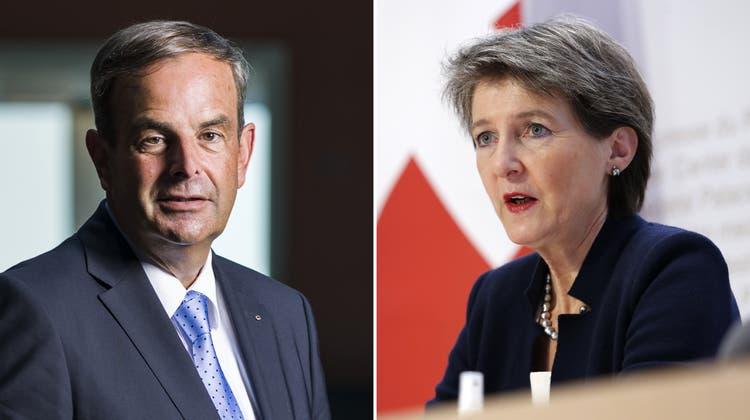 Gerhard Pfister ist zuversichtlich, dass die Schweiz ihre Klimaziele erreicht – in kleineren Schritten, als das CO2-Gesetz einer war. (Alessandro Della Valle / Keystone)
