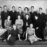 Eine Frauenfelder Handelsdiplomklasse im Jahr 1950. (Bild: PD)