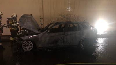 Zwei Fahrzeugbrände in Belchen- und Hausmatttunnel ++ Auto-Poser in Grenchen geschnappt