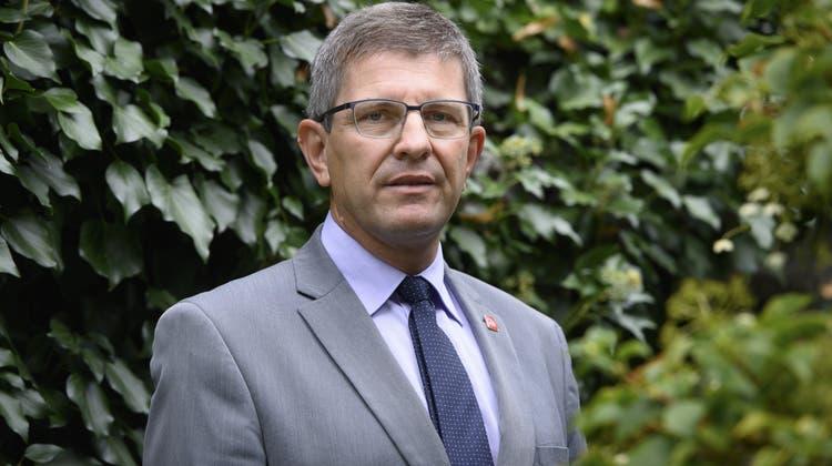 Der Bieler Stadtpräsident Erich Fehr amtet als ersterVereinspräsident der «Reformplattform». (Keystone)