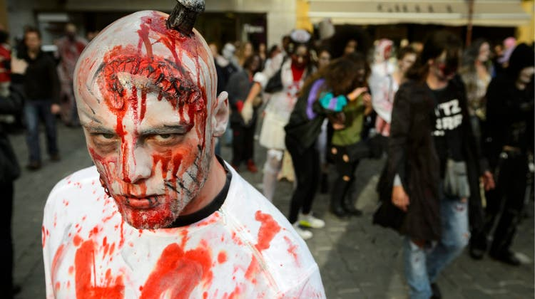 Zombies sind seit Jahrzehnten ein beliebtes Gruselmotiv. (Bild: Keystone)