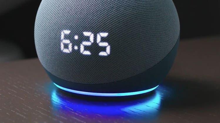 Der Smarte Lautsprecher Echo Dot (4. Generation) von Amazon (Bild: zvg)