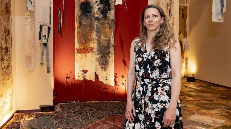 Die Installation «Wald» von Ana Leonor Pitain der Galerie Kawaart. (Kenneth Nars)