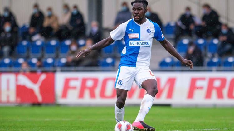 Läuft Allen Njie, seit 2019 bei GC unter Vertrag, in der neuen Saison für den FC Aarau auf? (Freshfocus)